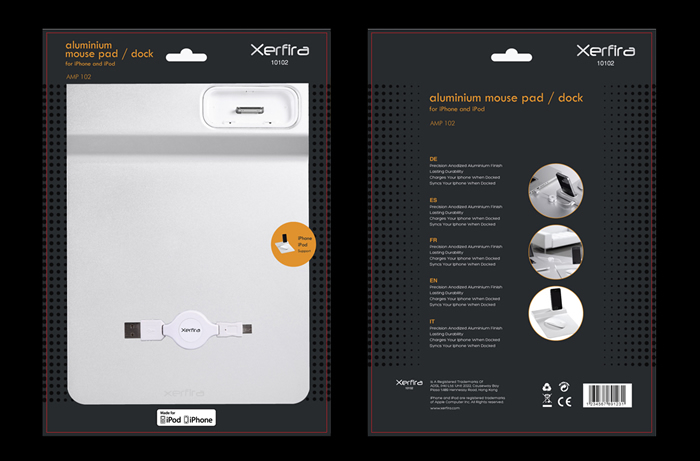 Electronic Product Packaging Design & Photography